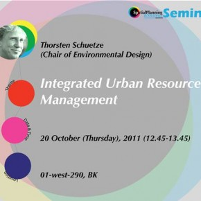 Thorsten Schuetze in Integrated Urban Resource Management