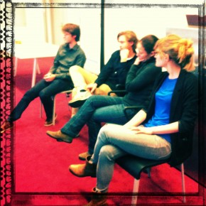 Students from the Graduation Studios in Urbanism at TU Delft present at Methodology Course