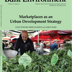 New publication: A themed issue ' Marketplaces as an Urban Development Strategy' in Built Environment (October 2013)