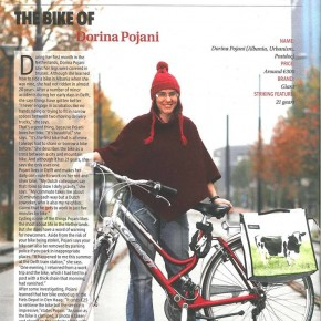 Dorina Pojani practices what she preaches: featured article on TU Delft Campus newspaper