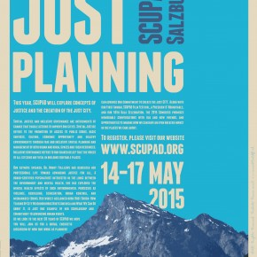 Register for the 50th anniversary of SCUPAD: The Salzburg Congress on Urban Planning and Development