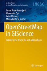 "New book chapter in ""OpenStreetMap in GIScience: Experiences, Research, Applications"""