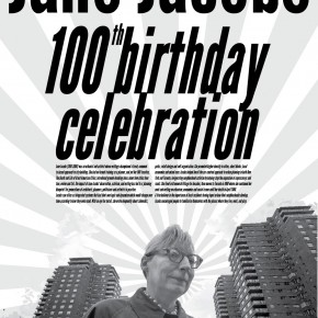 CALL FOR IDEAS! Celebrating the 100th Birthday of Jane Jacobs