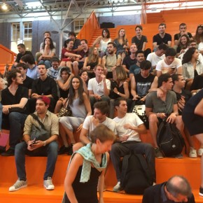 Students and teachers of L'École Spéciale d'Architecture de Paris visit TU Delft