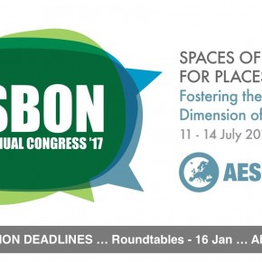 AESOP Congress 2017: Deadlines postponed!