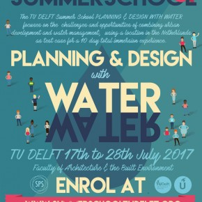 Record number of candidates for the Summer School Planning and Design with Water