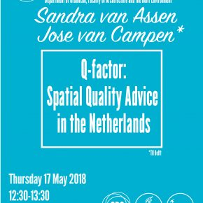 SPS Seminar 17 May 2018: José van Campen en Sandra van Assen - Spatial Quality Advice in the Netherlands