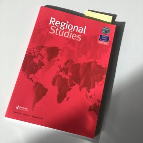 Regional Studies special issue on policy-transfer in regional development and planning, edited by M.Dąbrowski, I.Musiałkowska and L.Polverari