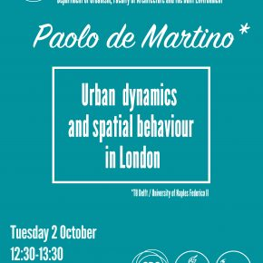 SPS Seminar: Paolo de Martino - Spatial and institutional path dependencies in Naples port-city region (2 Oct, 12:30)