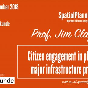 20 Nov - SPS Seminar: Prof. Claydon - Citizen Engagement in Planning Major Infrastructure Projects