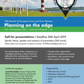 ECTP Biennial, Plymouth, UK, 11-13 SEPT